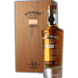 Bowmore 1973 43 years old